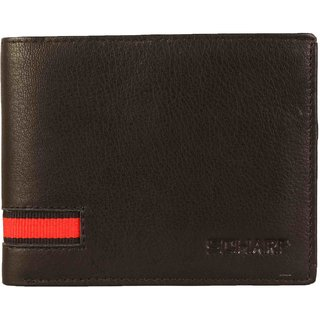 SCHARF Tricks Of The Trade Genuine Leather Bi-Fold Wallet for Men AEPMWA07
