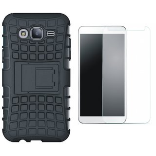 OnePlus 3T Shockproof Tough Armour Defender Case with Tempered Glass