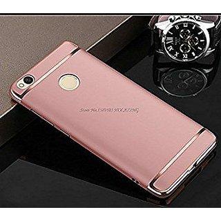 MI A1 Plain Cases ClickAway - Rose Gold