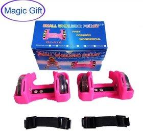 Whirlwind Pulley - Wheels Heel Roller Skates - Adjustable Simply Roller Skating Shoes