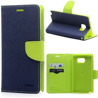 Redmi Note 5 Pro Mercury Wallet Type Flip Cover  Blue