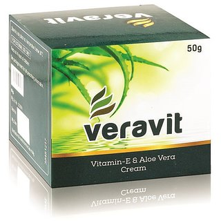 Veravit Vitamin-E Aloevera Cream 50gm