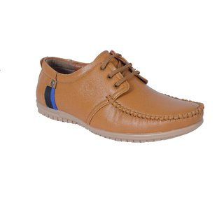 Shoebook Office Tan casual formal Shoes