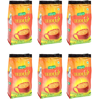 Tejdeep Strong CTC Tea Combo of 6 (250gm each) for Indian Strong Beverage Drinkers (Brand Outlet)