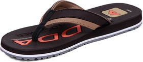 Adda Comfortable Brown Color Flipflops For Men