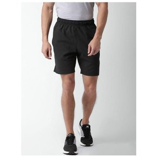 Nike Black Men/Boys Polyester Lycra Shorts