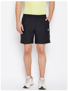 Adidas Black Men/Boy's Polyester Lycra  Shorts