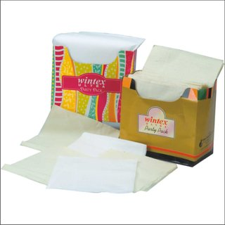 Party pack white napkin - pack of 10 nos