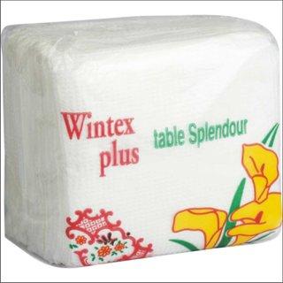 Elegant white napkin - pack of 10 nos