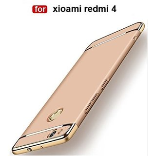 Redmi 4 Plain Cases 2Bro - Golden