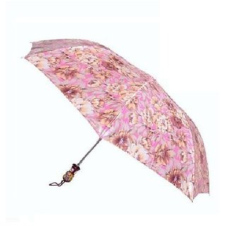 3 Fold Printed Nylon Cloth Umbrella ( Assorted)