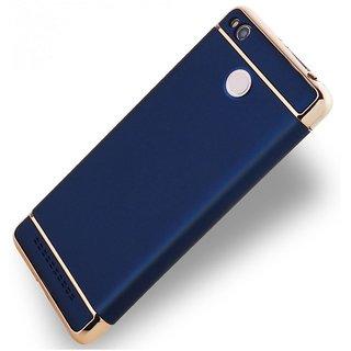 Redmi 4A Plain Cases 2Bro - Blue