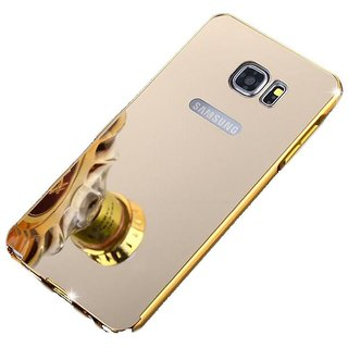 Samsung Galaxy A7 2016 Mirror Back Covers SNI - Golden