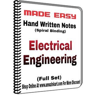 Made Easy Electrical Engineering Hand Written Notes With Spiral