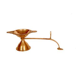 Kesar Zems Brass Pooja ka Chirag