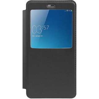 Redmi Note 4 Flip Cover by RayKay - Black