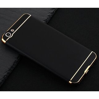 Oppo F1s Plain Cases SUNNY FASHION - Black