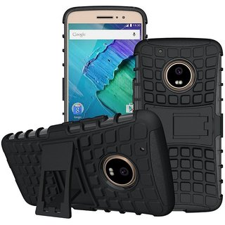 Moto G5 Plus Defender Series Covers Aw Mart - Black