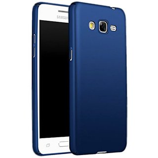 Samsung Galaxy J7 Plain Cases Top Grade - Blue