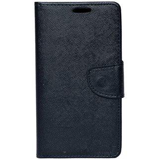 Coverage Flip Cover For Motorola Moto G Turbo Edition-Black