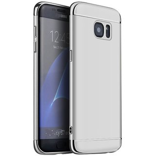 Samsung Galaxy S7 Edge Plain Cases 2Bro - Silver