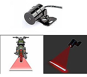 Car Bike Rear Laser Safety Line Fog Light Red  for Bikes/Bullet/Scooty/Car fog light