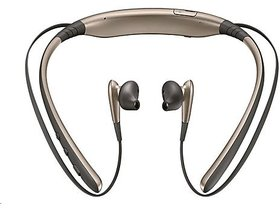 Samsung EO-BG920BFEGIN Level U Bluetooth Headset (Gold) - 6 Months Brand Warranty