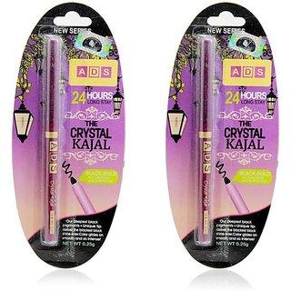ADS Crystal Kajal Black - Set of 2