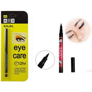 ADS Eye care Kajal with 36HR Eyeliner