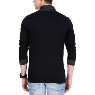 8becbd5e7a0640 Buy V neck stylish full sleeved t shirt for men Online @ ₹899 from ...