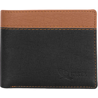 Insta Twice Colour Wallet (Synthetic leather/Rexine)