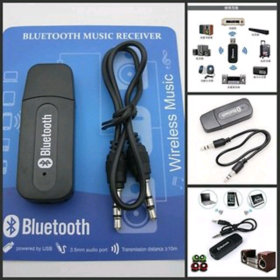 Bluetooth Audio Receiver With Aux 3.5mm Connector
