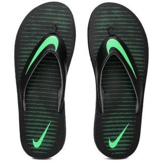 7d57ff0949ea Buy Nike THONG 5 Black Thong Flip Flop Online - Get 68% Off