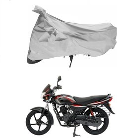 Bajaj Platina Silver Bike Body Cover