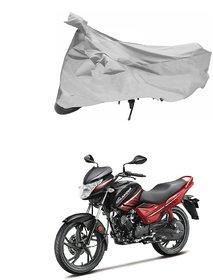 Hero Glamour Silver Bike Body Cover