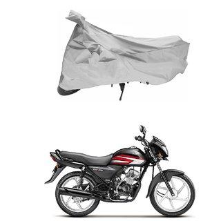 Hero HF Deluxe Silver Bike Body Cover