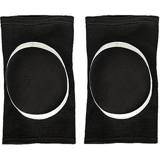 aroraonlinetraders Stretchy Cotton Knee Pads Sports Padded Knee Sleeves Dancing Knee Protective Brace Support Strap Wrap