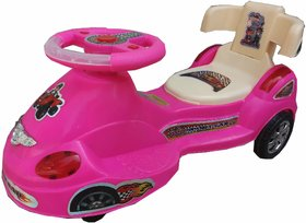 Oh Baby Baby  train Shape With Back Support Musical Light Magic Car