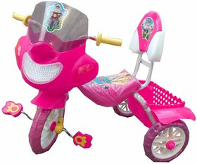 Oh Baby Baby  Bike Musical With Tubeless Tyre Pink Colo