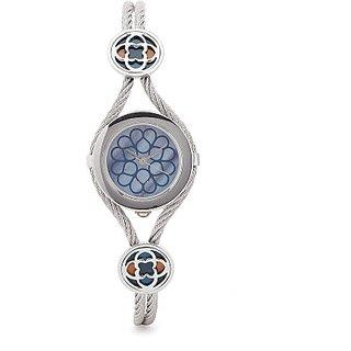 Titan Analog Blue Round Watch -9936SM01