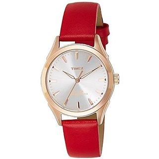 Timex Analog Silver Round Watch -TW000Y602