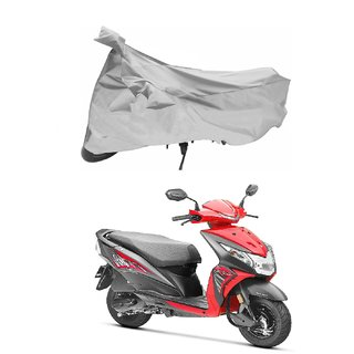 Honda Dio Silver Scooty Body Cover