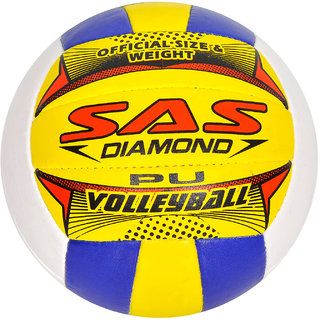 SAS Volleyball for Match Training Durable And All-weather proof - Size 4 Volleyball
