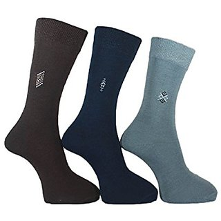 NeoFeral Cotton Lightweight Fashion Dress Socks(set of 3)