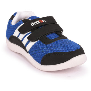Action Shoes Blue-White sports Shoes