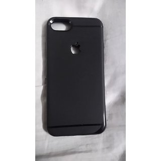 IPHONE 7 BACK COVER BLACK (SOFT)