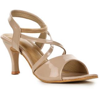41a7f17dbc0 Buy Vayonaa Women s Cream Heels Online   ₹999 from ShopClues