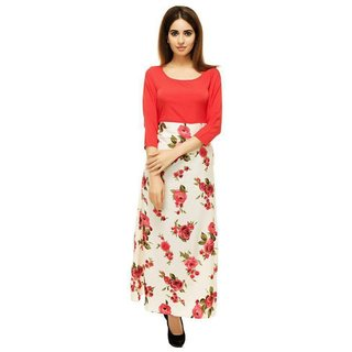 Shree Wow Women's Red Stitched Kurtis