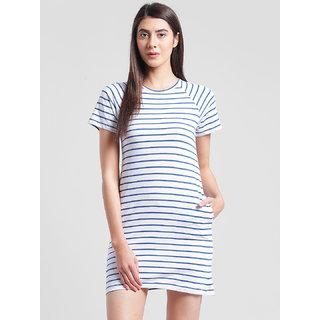RIGO Striped Skater Dress