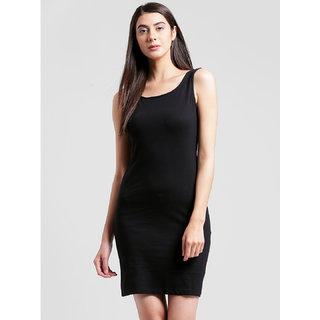 RIGO Black Sleevless Bodycon Dress